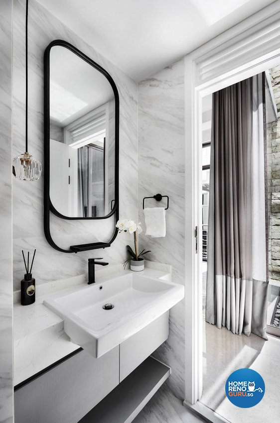 Contemporary, Modern, Resort Design - Bathroom - Landed House - Design by Icon Interior Design