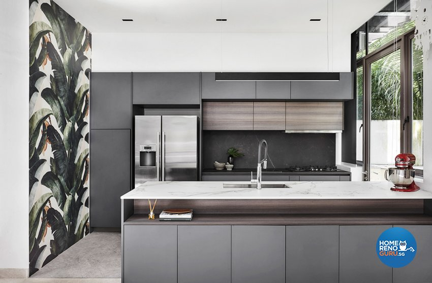 Contemporary, Modern, Resort Design - Kitchen - Landed House - Design by Icon Interior Design
