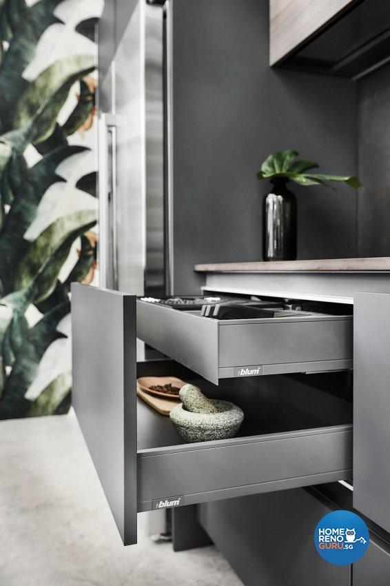Contemporary, Modern, Resort Design - Kitchen - Landed House - Design by Icon Interior Design
