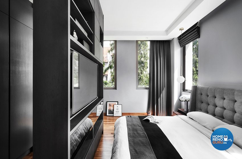Contemporary, Modern, Resort Design - Bedroom - Landed House - Design by Icon Interior Design