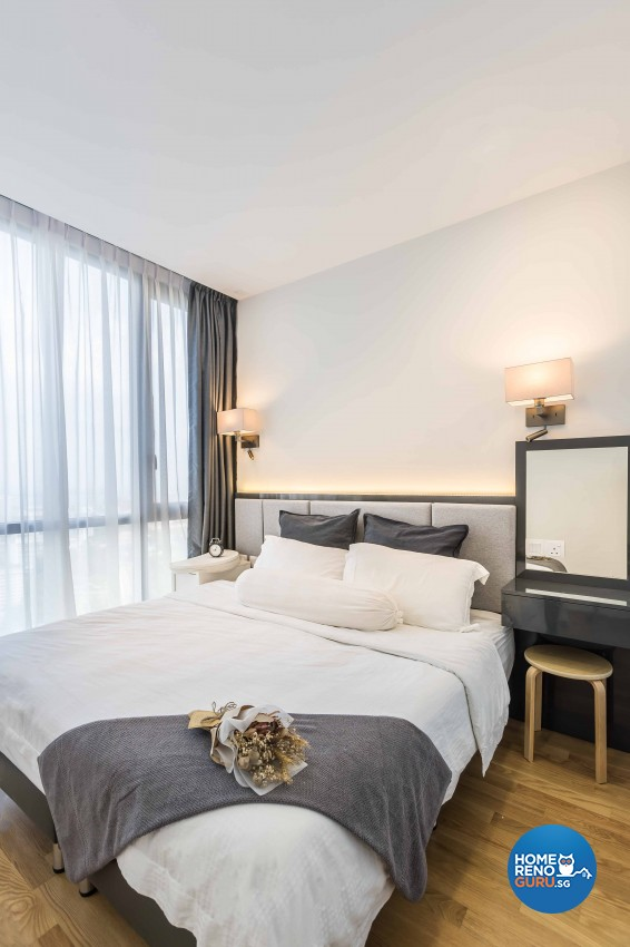 Scandinavian Design - Bedroom - Condominium - Design by Icon Interior Design