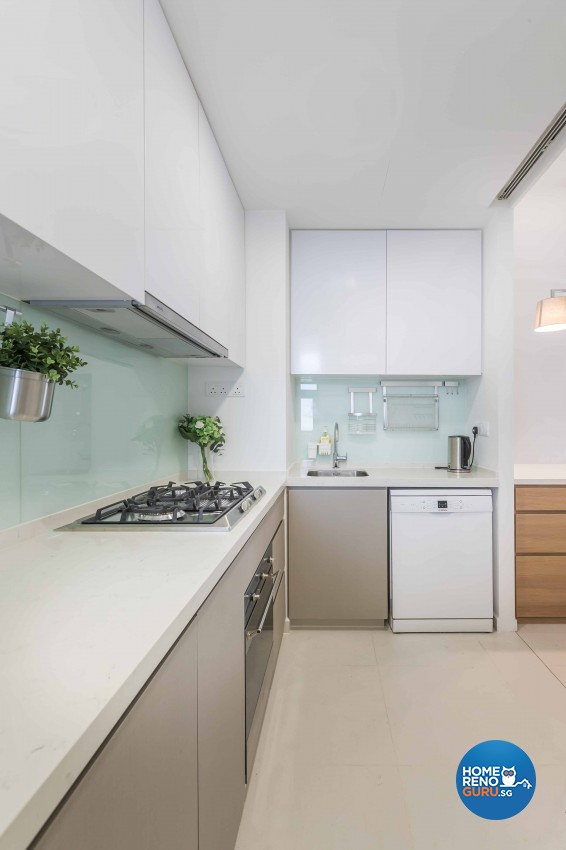 Scandinavian Design - Kitchen - Condominium - Design by Icon Interior Design