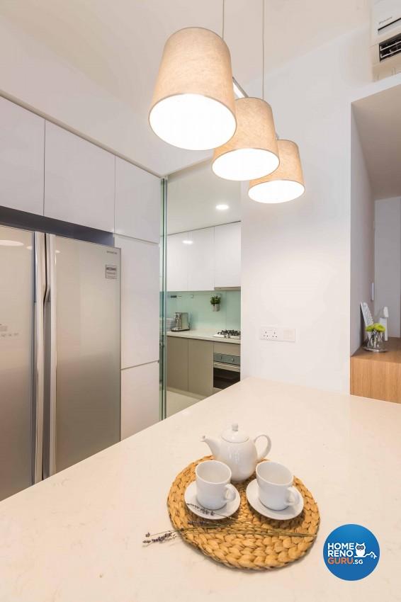 Scandinavian Design - Dining Room - Condominium - Design by Icon Interior Design