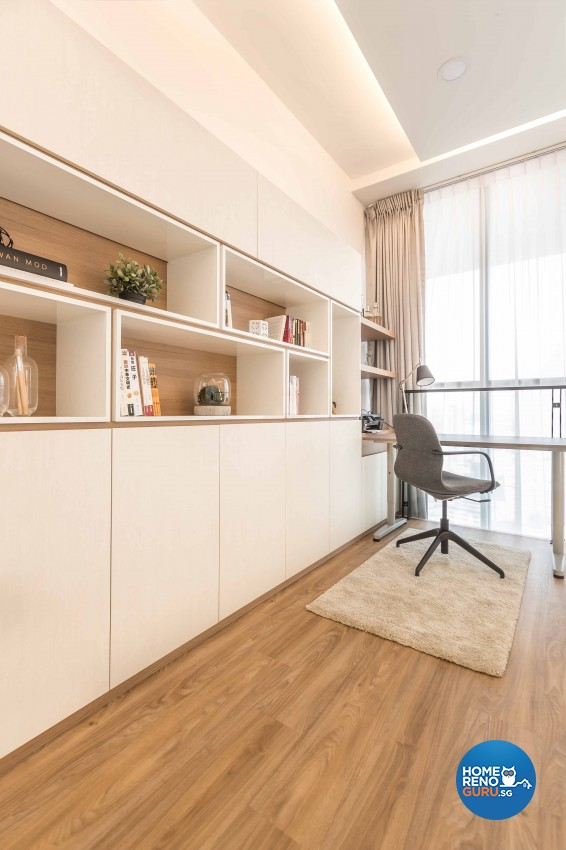 Scandinavian Design - Study Room - Condominium - Design by Icon Interior Design