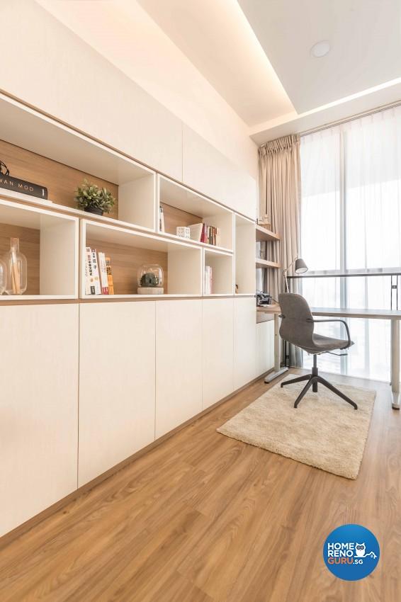 Scandinavian Design - Study Room - Condominium - Design by Icon Interior Design