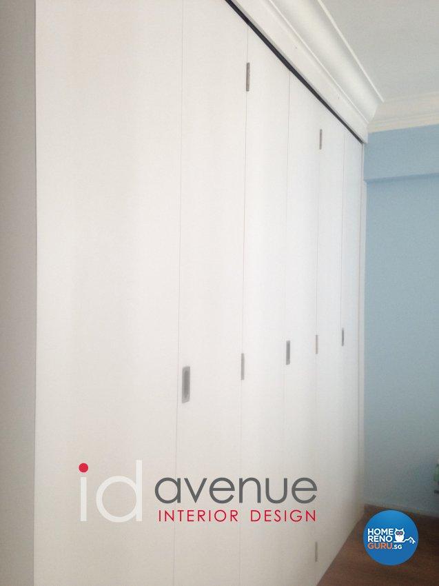 Retro Design - Bedroom - HDB 3 Room - Design by ID Avenue Pte Ltd (Interior Design Avenue)