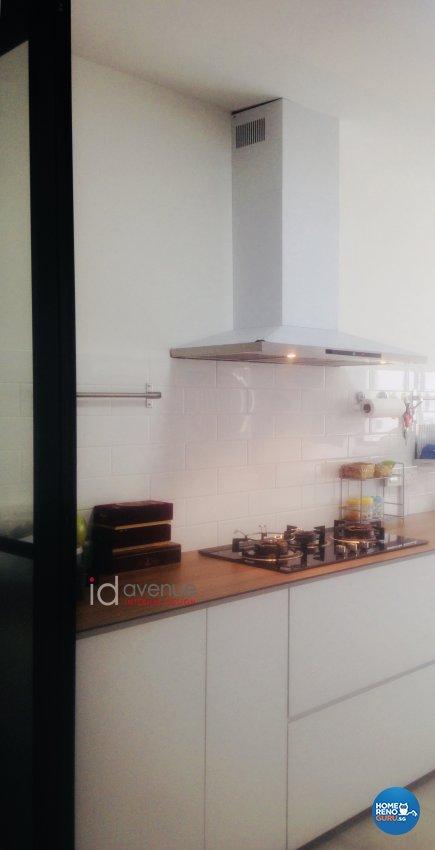 Retro Design - Kitchen - HDB 3 Room - Design by ID Avenue Pte Ltd (Interior Design Avenue)