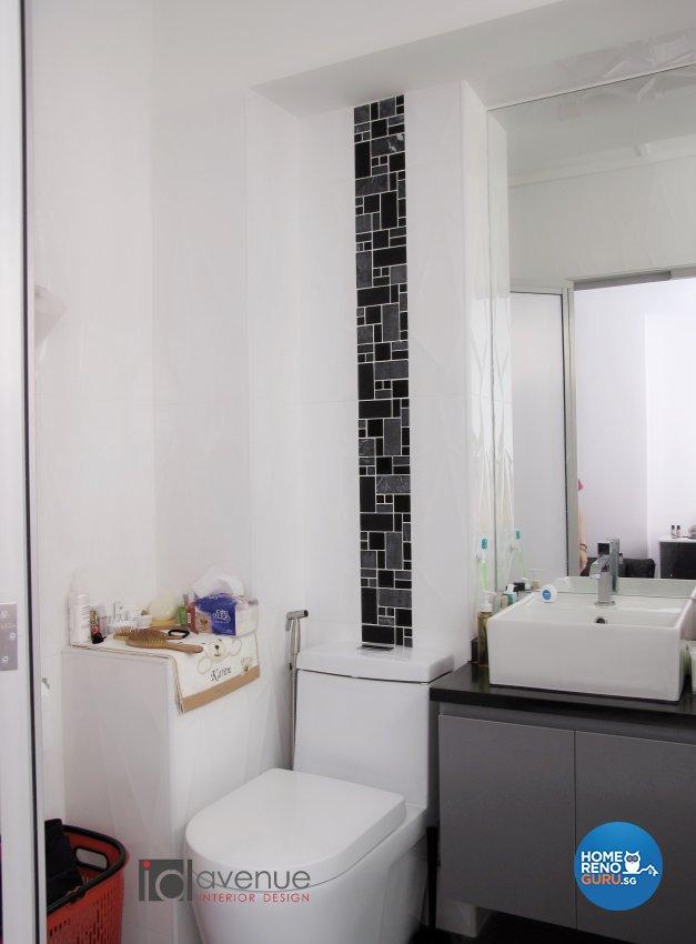 Contemporary, Modern Design - Bathroom - HDB 4 Room - Design by ID Avenue Pte Ltd (Interior Design Avenue)