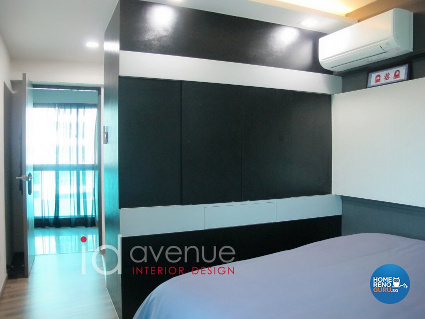 Contemporary, Modern Design - Bedroom - HDB 4 Room - Design by ID Avenue Pte Ltd (Interior Design Avenue)