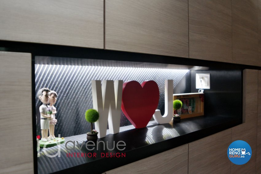 Industrial, Modern Design - Living Room - HDB 5 Room - Design by ID Avenue Pte Ltd (Interior Design Avenue)