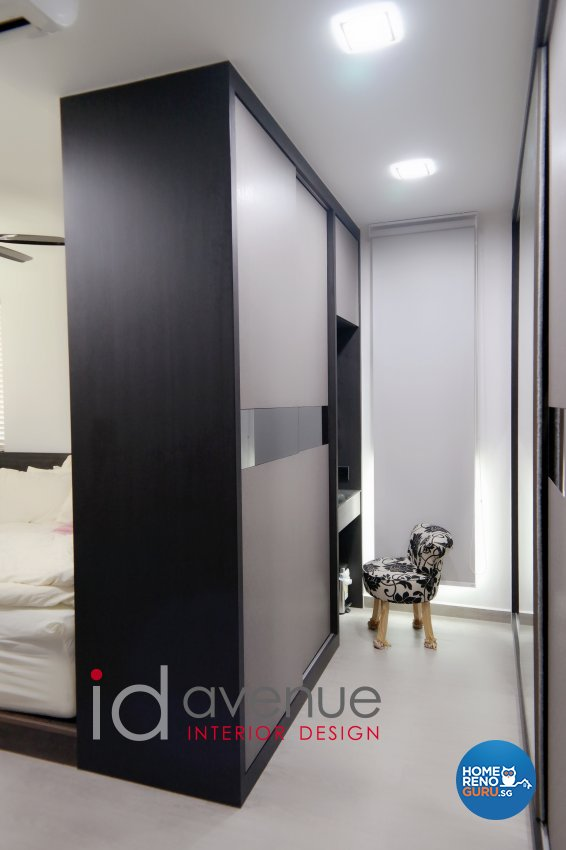Industrial, Modern Design - Bedroom - HDB 5 Room - Design by ID Avenue Pte Ltd (Interior Design Avenue)