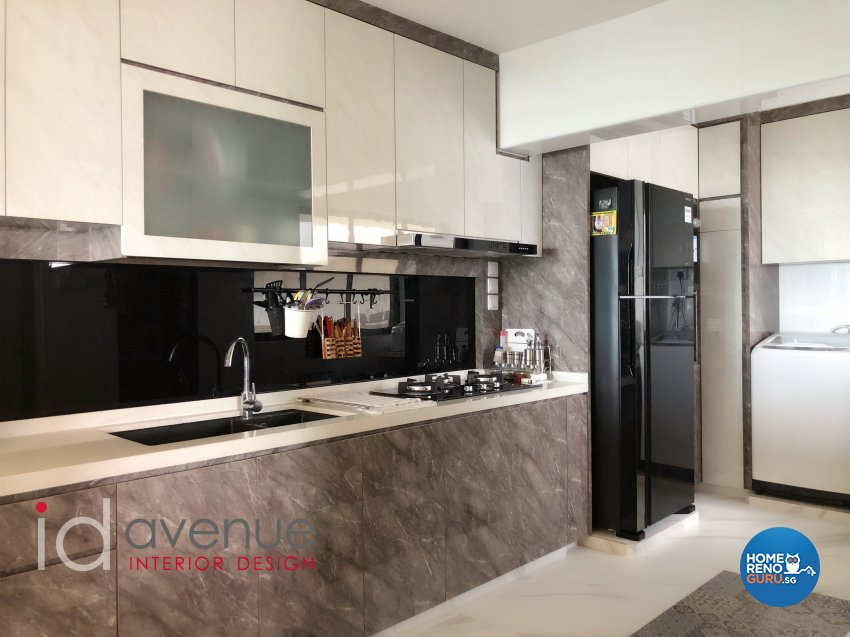 Modern, Others Design - Kitchen - HDB 4 Room - Design by ID Avenue Pte Ltd (Interior Design Avenue)