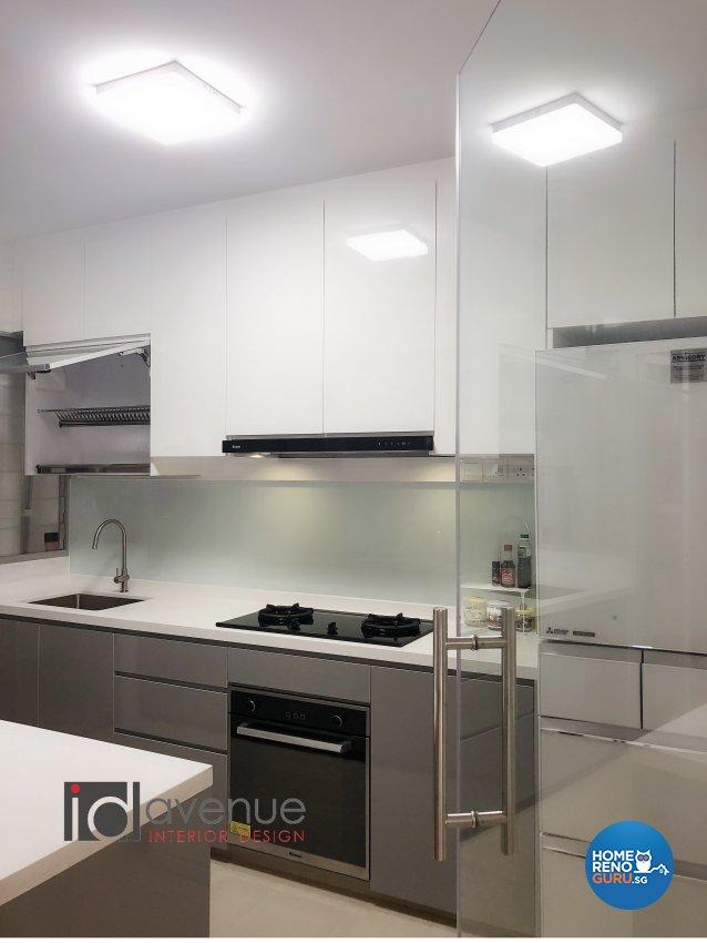 Modern Design - Kitchen - HDB 4 Room - Design by ID Avenue Pte Ltd (Interior Design Avenue)