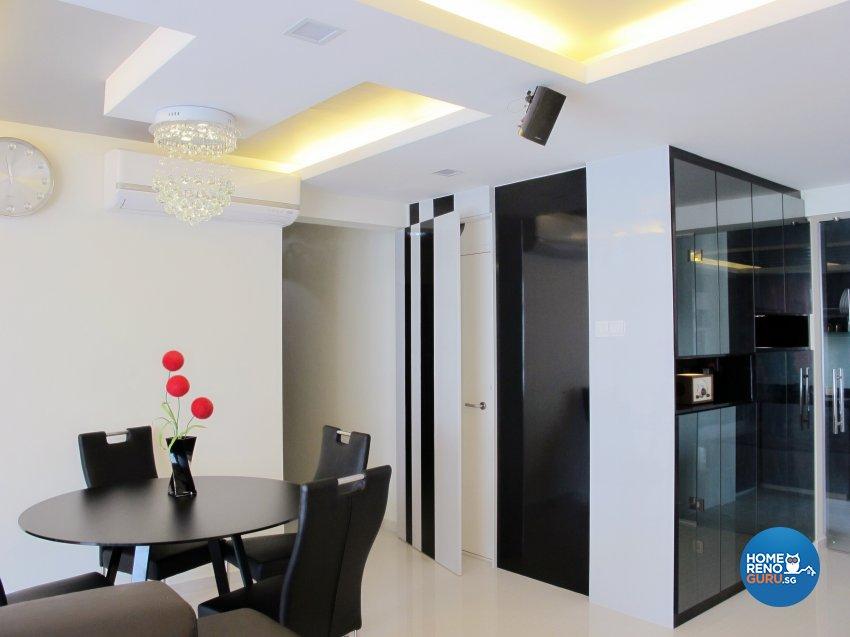 Contemporary, Modern Design - Dining Room - HDB 5 Room - Design by ID Avenue Pte Ltd (Interior Design Avenue)