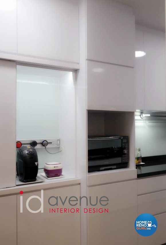 Contemporary, Modern Design - Kitchen - HDB 5 Room - Design by ID Avenue Pte Ltd (Interior Design Avenue)