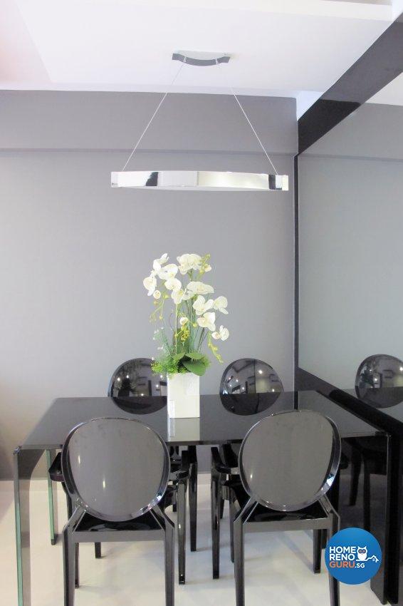 Contemporary, Modern Design - Dining Room - HDB 4 Room - Design by ID Avenue Pte Ltd (Interior Design Avenue)