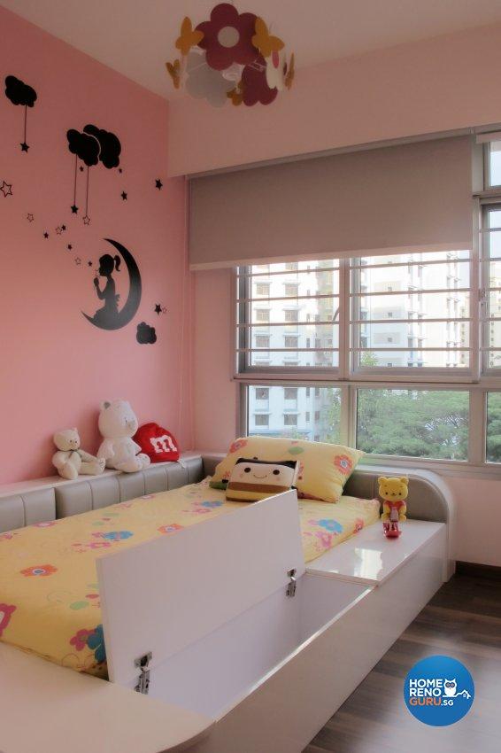 Contemporary, Modern Design - Bedroom - HDB 4 Room - Design by ID Avenue Pte Ltd (Interior Design Avenue)