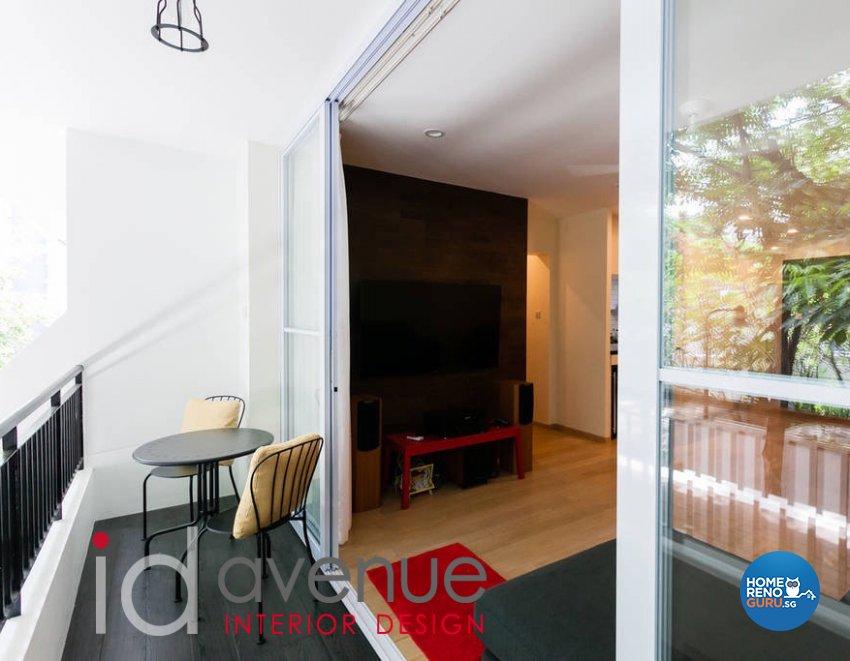 Scandinavian Design - Balcony - Condominium - Design by ID Avenue Pte Ltd (Interior Design Avenue)