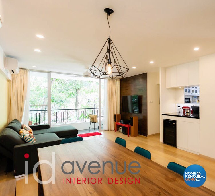 Scandinavian Design - Living Room - Condominium - Design by ID Avenue Pte Ltd (Interior Design Avenue)