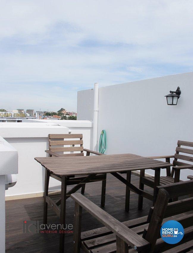 Contemporary, Modern Design - Balcony - Condominium - Design by ID Avenue Pte Ltd (Interior Design Avenue)