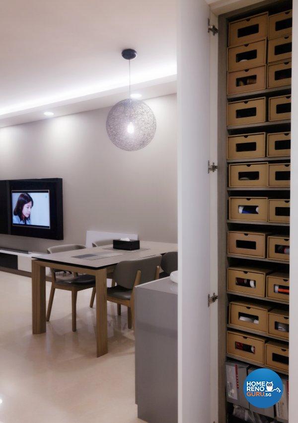 Contemporary, Modern Design - Living Room - Condominium - Design by ID Avenue Pte Ltd (Interior Design Avenue)