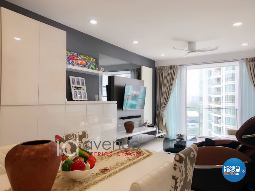 Contemporary, Modern Design - Living Room - Condominium - Design by ID Avenue Pte Ltd (Interior Design Avenue)
