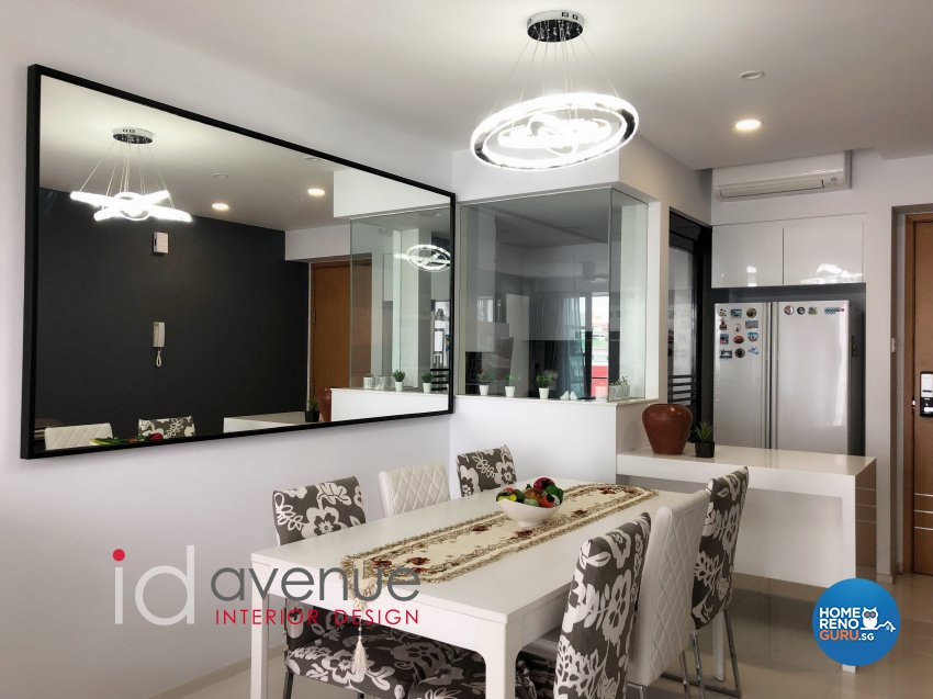 Contemporary, Modern Design - Dining Room - Condominium - Design by ID Avenue Pte Ltd (Interior Design Avenue)