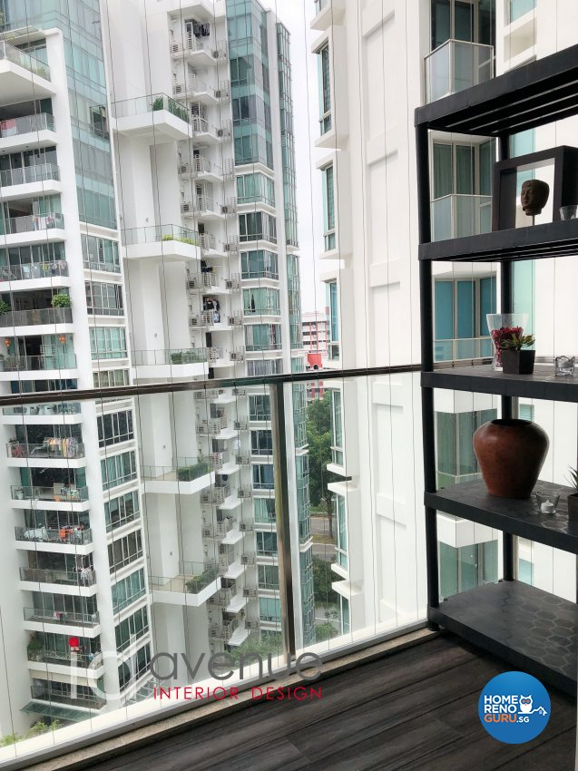 Contemporary, Modern Design - Balcony - Condominium - Design by ID Avenue Pte Ltd (Interior Design Avenue)