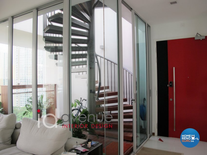 Contemporary, Modern Design - Garden - Condominium - Design by ID Avenue Pte Ltd (Interior Design Avenue)