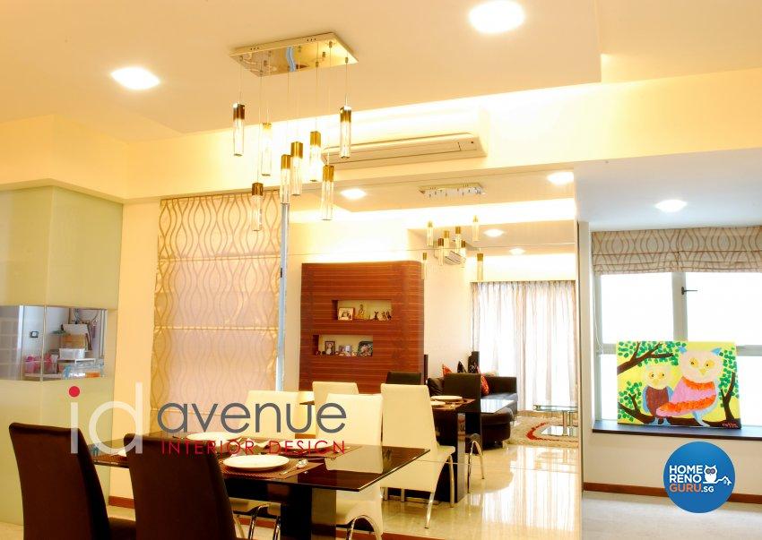 Contemporary, Modern Design - Dining Room - Condominium - Design by ID Avenue Pte Ltd (Interior Design Avenue)