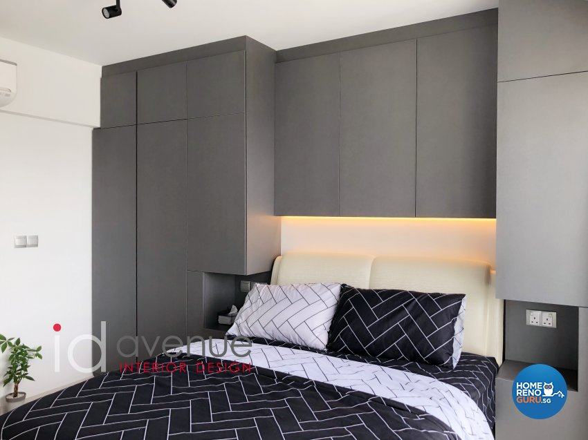 Contemporary, Modern Design - Bedroom - HDB 3 Room - Design by ID Avenue Pte Ltd (Interior Design Avenue)