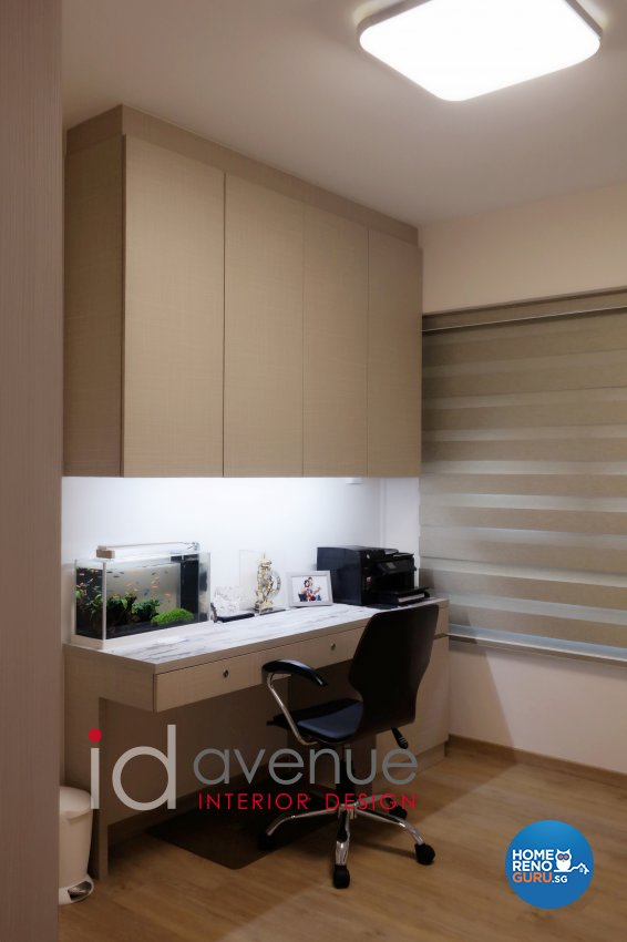 4 Room Hdb Design: Id Avenue Pte Ltd Interior Design Avenue Hdb 4 Room