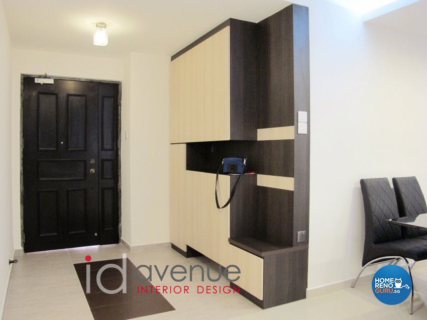 Contemporary, Modern Design - Living Room - HDB 5 Room - Design by ID Avenue Pte Ltd (Interior Design Avenue)