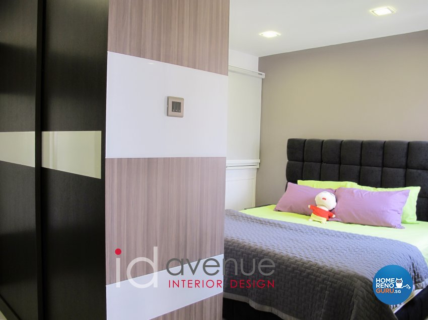 Contemporary, Modern Design - Bedroom - HDB 5 Room - Design by ID Avenue Pte Ltd (Interior Design Avenue)