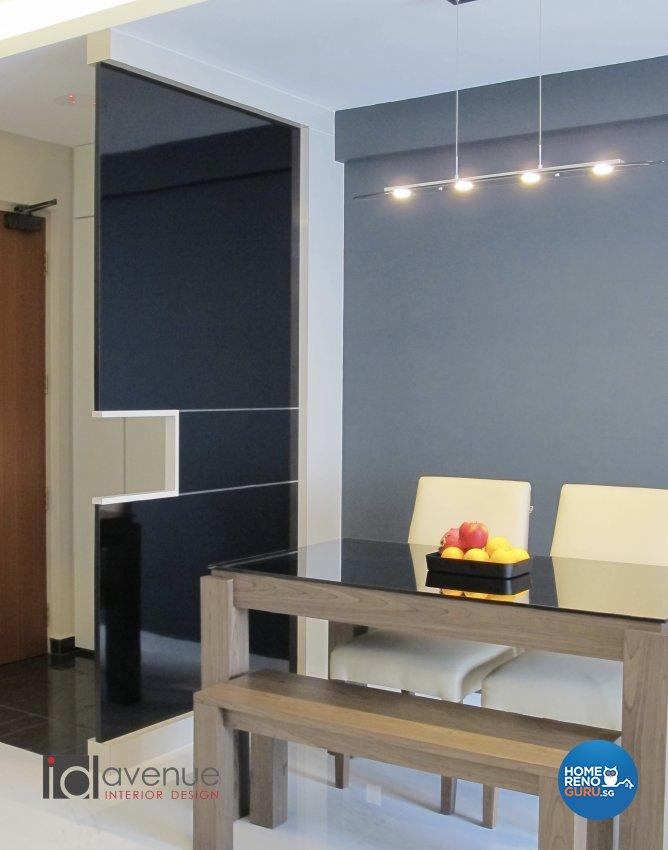 Contemporary, Modern Design - Living Room - HDB 5 Room - Design by ID Avenue Pte Ltd (Interior Design Avenue)