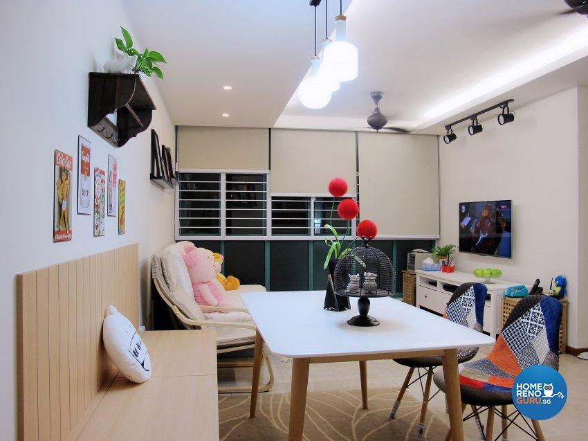 Scandinavian Design - Living Room - HDB 5 Room - Design by ID Avenue Pte Ltd (Interior Design Avenue)