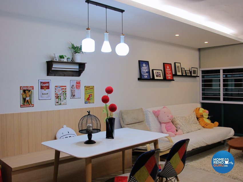 Scandinavian Design - Dining Room - HDB 5 Room - Design by ID Avenue Pte Ltd (Interior Design Avenue)