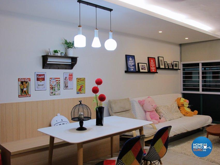 Scandinavian Design - Dining Room - HDB 5 Room - Design by ID Avenue Pte Ltd (Interior Design Avenue)