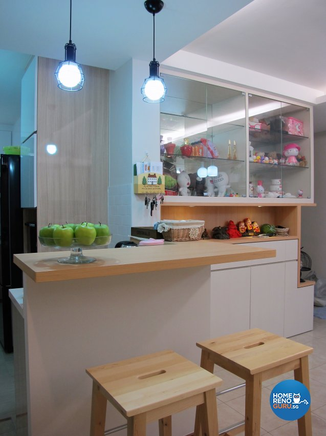 Scandinavian Design - Kitchen - HDB 5 Room - Design by ID Avenue Pte Ltd (Interior Design Avenue)