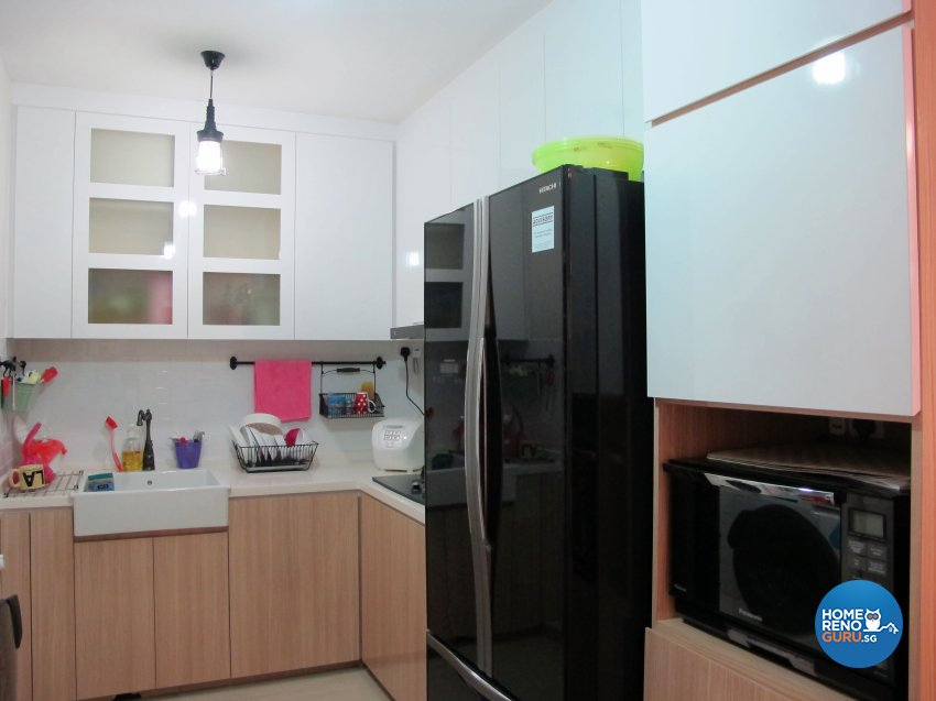 Scandinavian Design - Kitchen - HDB 5 Room - Design by ID Avenue Pte Ltd (Interior Design Avenue)