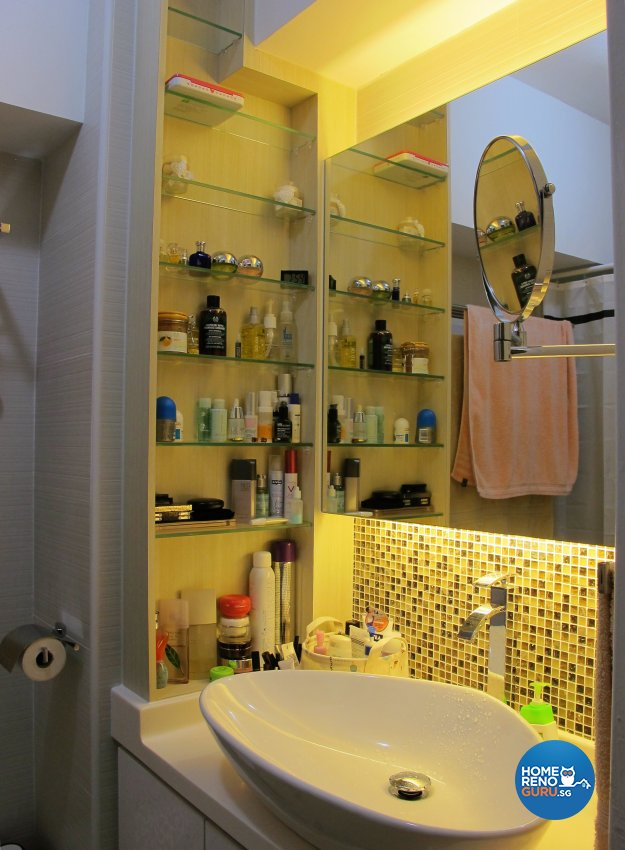 Scandinavian Design - Bathroom - HDB 5 Room - Design by ID Avenue Pte Ltd (Interior Design Avenue)
