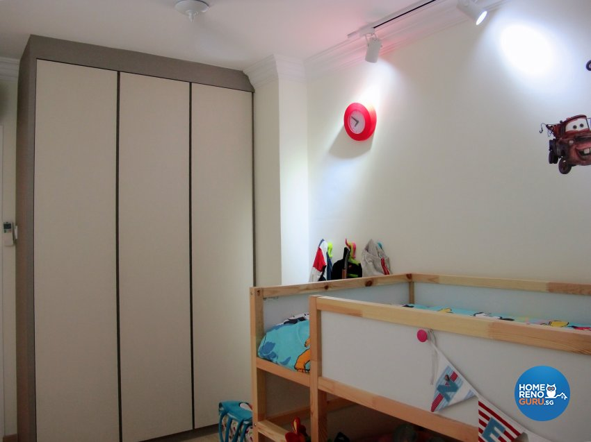 Scandinavian Design - Bedroom - HDB 5 Room - Design by ID Avenue Pte Ltd (Interior Design Avenue)