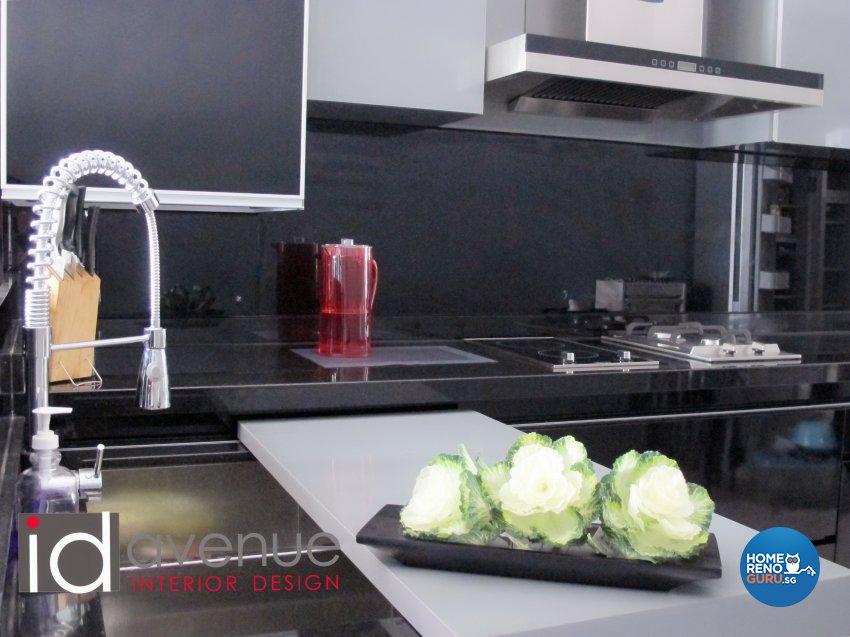Industrial, Minimalist Design - Kitchen - HDB 4 Room - Design by ID Avenue Pte Ltd (Interior Design Avenue)