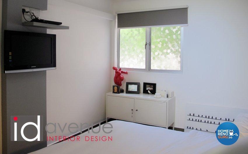 Industrial, Minimalist Design - Bedroom - HDB 4 Room - Design by ID Avenue Pte Ltd (Interior Design Avenue)