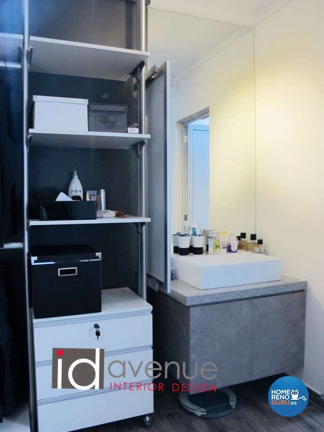 Industrial, Minimalist Design - Bathroom - HDB 4 Room - Design by ID Avenue Pte Ltd (Interior Design Avenue)