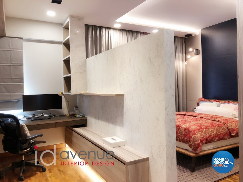 Contemporary, Modern Design - Bedroom - Landed House - Design by ID Avenue Pte Ltd (Interior Design Avenue)