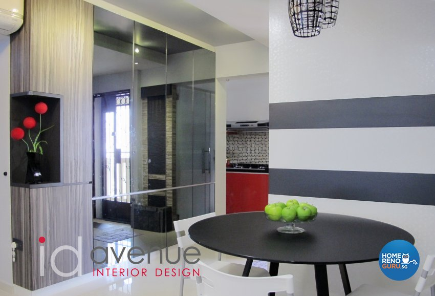 Contemporary, Modern Design - Dining Room - HDB 4 Room - Design by ID Avenue Pte Ltd (Interior Design Avenue)