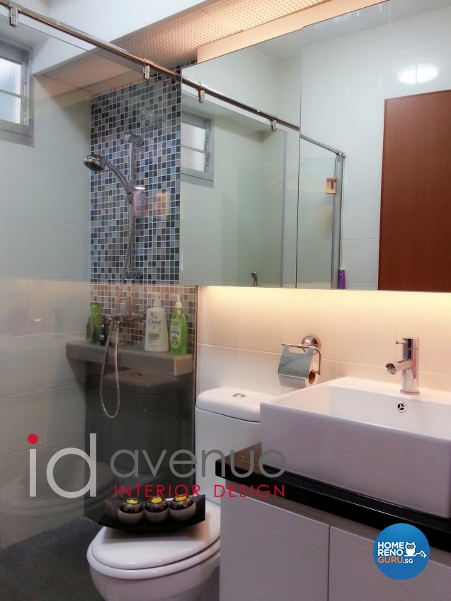Contemporary, Modern Design - Bathroom - HDB 4 Room - Design by ID Avenue Pte Ltd (Interior Design Avenue)