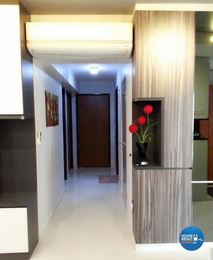 Contemporary, Modern Design - Living Room - HDB 4 Room - Design by ID Avenue Pte Ltd (Interior Design Avenue)