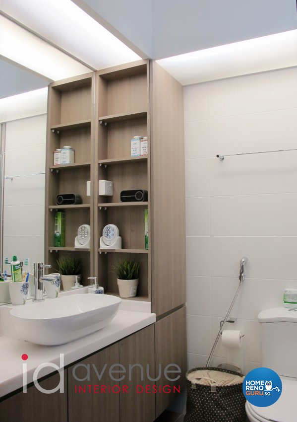 Modern, Scandinavian Design - Bathroom - HDB 4 Room - Design by ID Avenue Pte Ltd (Interior Design Avenue)